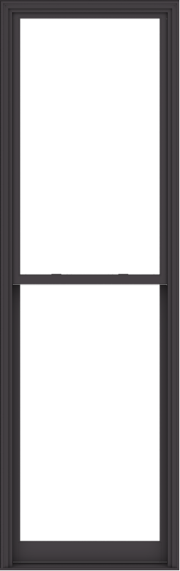 WDMA 38x120 (37.5 x 119.5 inch)  Aluminum Single Hung Double Hung Window without Grids-3