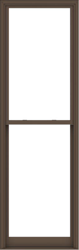 WDMA 38x120 (37.5 x 119.5 inch)  Aluminum Single Hung Double Hung Window without Grids-4