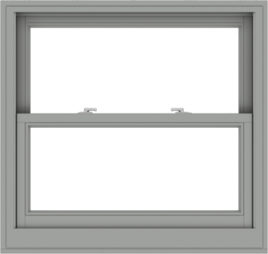 WDMA 38x36 (37.5 x 35.5 inch)  Aluminum Single Double Hung Window without Grids-1