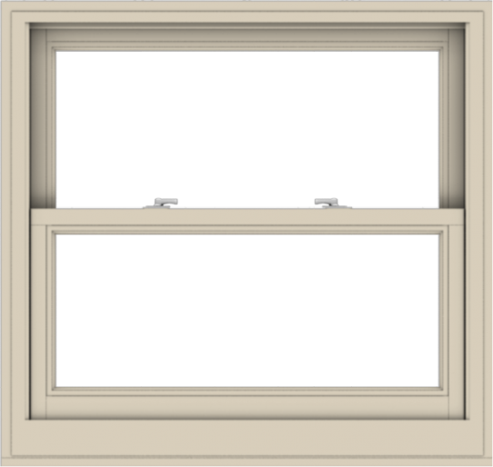 WDMA 38x36 (37.5 x 35.5 inch)  Aluminum Single Hung Double Hung Window without Grids-2