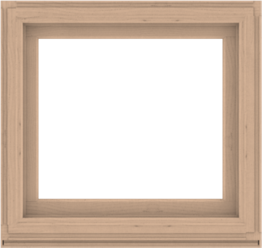 WDMA 38x36 (37.5 x 35.5 inch) Composite Wood Aluminum-Clad Picture Window without Grids-2