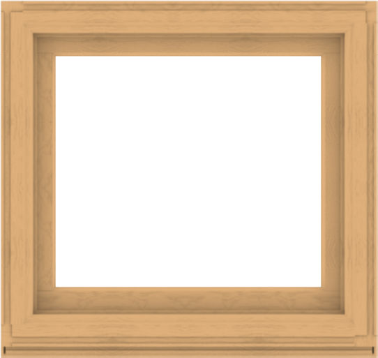 WDMA 38x36 (37.5 x 35.5 inch) Composite Wood Aluminum-Clad Picture Window without Grids-3
