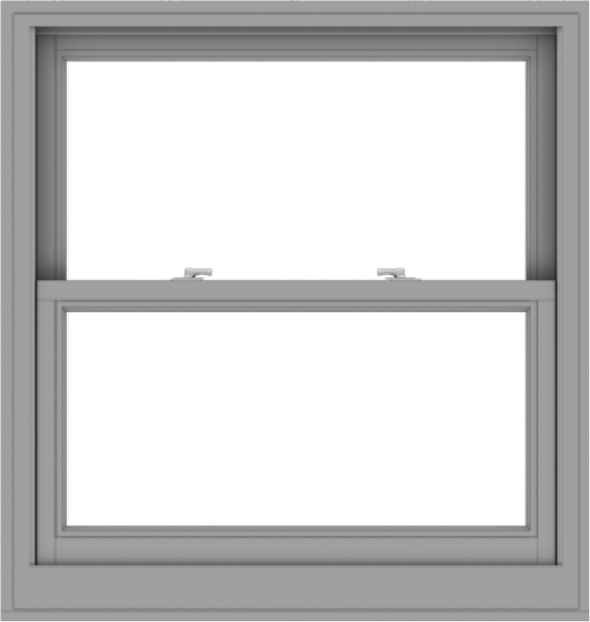 WDMA 38x40 (37.5 x 39.5 inch)  Aluminum Single Double Hung Window without Grids-1