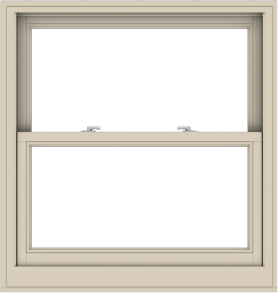 WDMA 38x40 (37.5 x 39.5 inch)  Aluminum Single Hung Double Hung Window without Grids-2