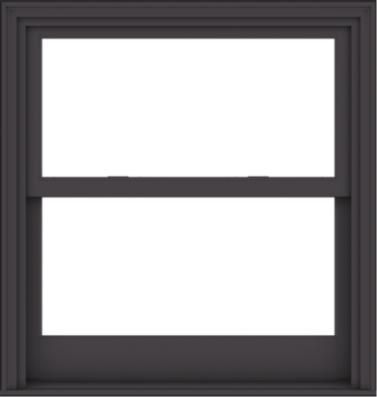 WDMA 38x40 (37.5 x 39.5 inch)  Aluminum Single Hung Double Hung Window without Grids-3