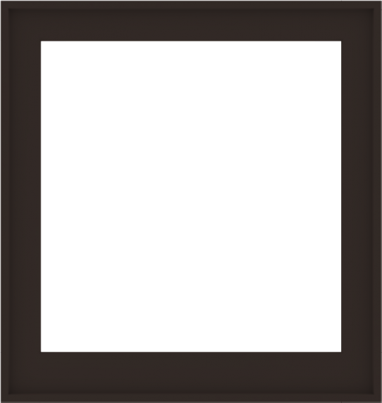 WDMA 38x40 (37.5 x 39.5 inch) Composite Wood Aluminum-Clad Picture Window without Grids-6
