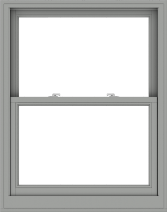 WDMA 38x48 (37.5 x 47.5 inch)  Aluminum Single Double Hung Window without Grids-1
