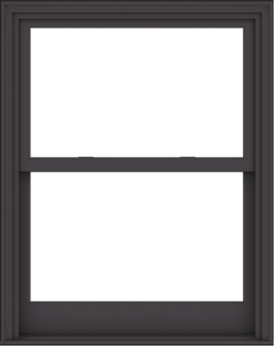 WDMA 38x48 (37.5 x 47.5 inch)  Aluminum Single Hung Double Hung Window without Grids-3