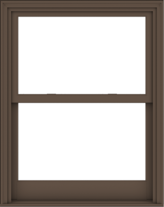 WDMA 38x48 (37.5 x 47.5 inch)  Aluminum Single Hung Double Hung Window without Grids-4