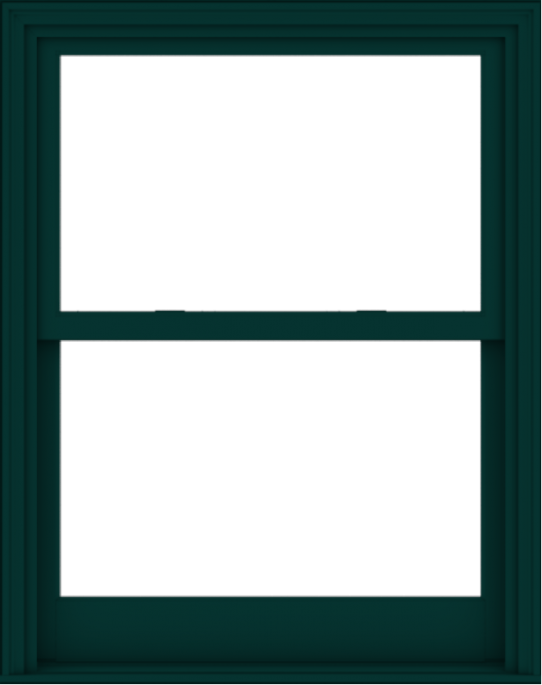 WDMA 38x48 (37.5 x 47.5 inch)  Aluminum Single Hung Double Hung Window without Grids-5