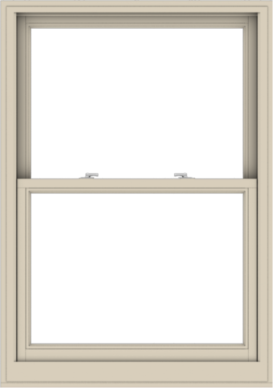 WDMA 38x54 (37.5 x 53.5 inch)  Aluminum Single Hung Double Hung Window without Grids-2