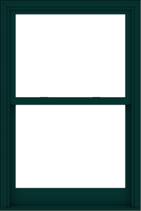 WDMA 38x57 (37.5 x 56.5 inch)  Aluminum Single Hung Double Hung Window without Grids-5
