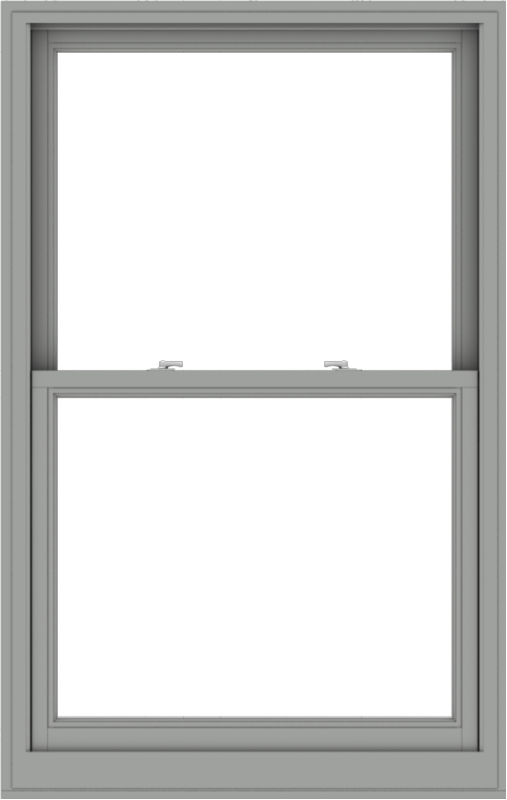 WDMA 38x60 (37.5 x 59.5 inch)  Aluminum Single Double Hung Window without Grids-1