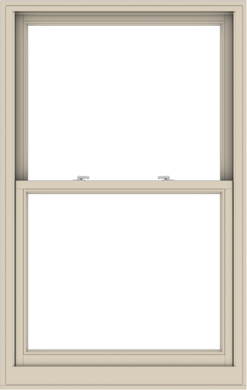 WDMA 38x60 (37.5 x 59.5 inch)  Aluminum Single Hung Double Hung Window without Grids-2