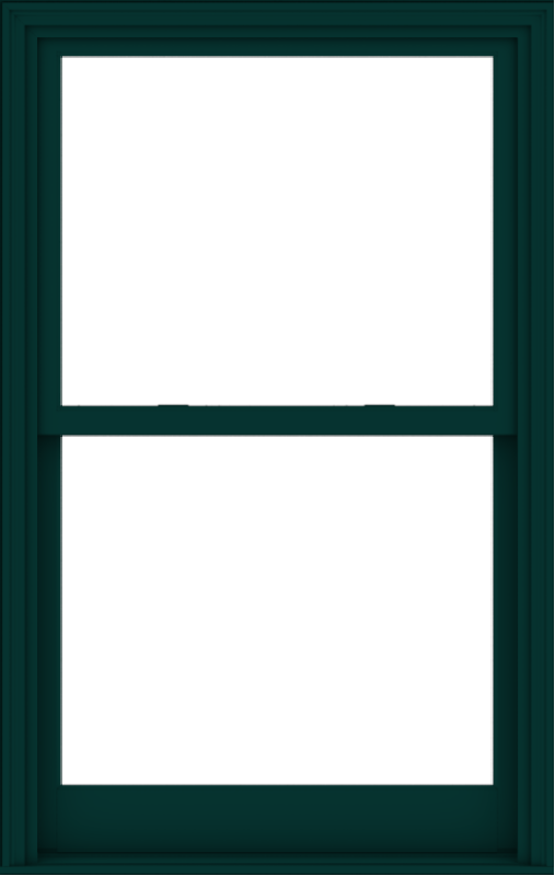 WDMA 38x60 (37.5 x 59.5 inch)  Aluminum Single Hung Double Hung Window without Grids-5