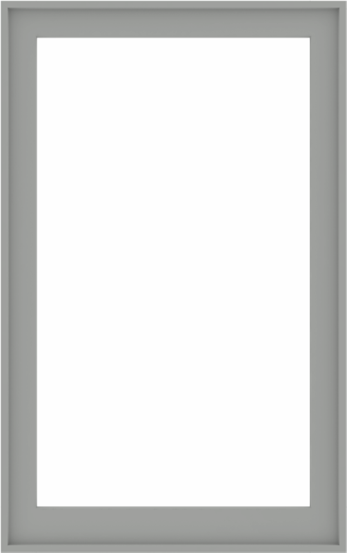 WDMA 38x60 (37.5 x 59.5 inch) Composite Wood Aluminum-Clad Picture Window without Grids-5