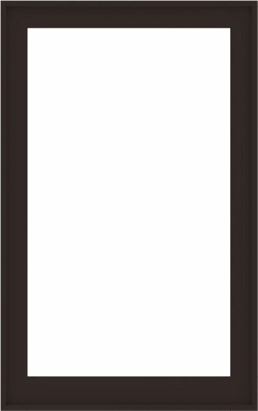 WDMA 38x60 (37.5 x 59.5 inch) Composite Wood Aluminum-Clad Picture Window without Grids-6