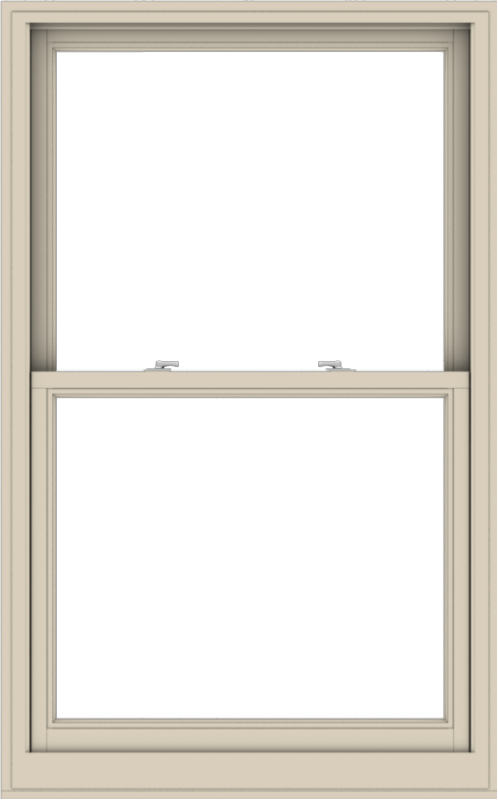 WDMA 38x61 (37.5 x 60.5 inch)  Aluminum Single Hung Double Hung Window without Grids-2