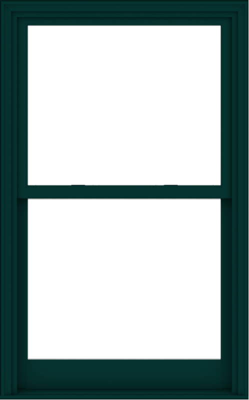 WDMA 38x61 (37.5 x 60.5 inch)  Aluminum Single Hung Double Hung Window without Grids-5