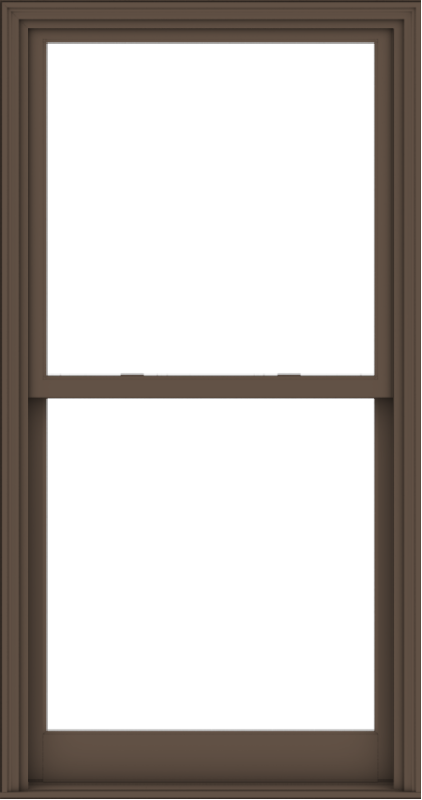 WDMA 38x72 (37.5 x 71.5 inch)  Aluminum Single Hung Double Hung Window without Grids-4