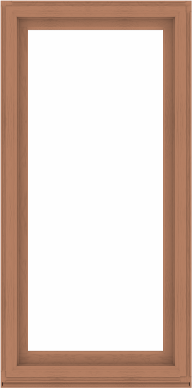 WDMA 38x76 (37.5 x 75.5 inch) Composite Wood Aluminum-Clad Picture Window without Grids-4