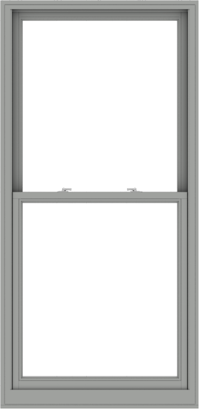 WDMA 38x78 (37.5 x 77.5 inch)  Aluminum Single Double Hung Window without Grids-1