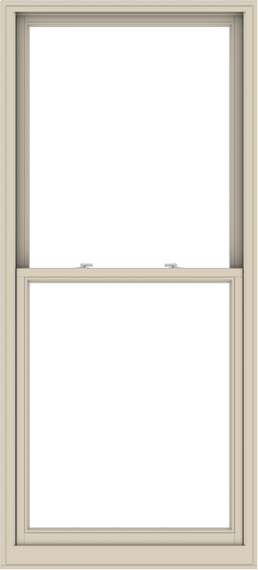 WDMA 38x84 (37.5 x 83.5 inch)  Aluminum Single Hung Double Hung Window without Grids-2