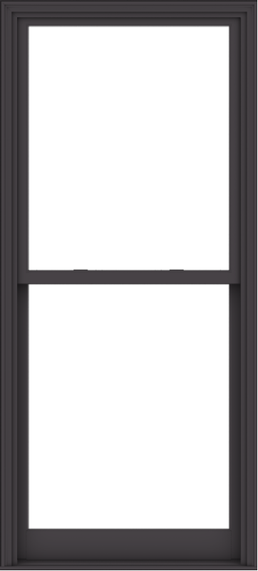 WDMA 38x84 (37.5 x 83.5 inch)  Aluminum Single Hung Double Hung Window without Grids-3