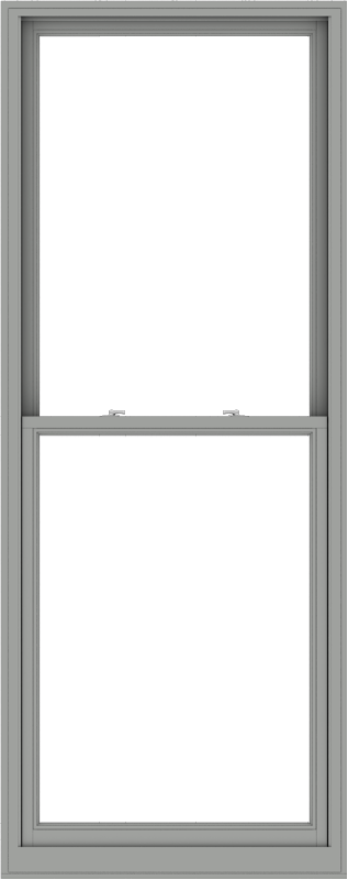 WDMA 38x96 (37.5 x 95.5 inch)  Aluminum Single Double Hung Window without Grids-1