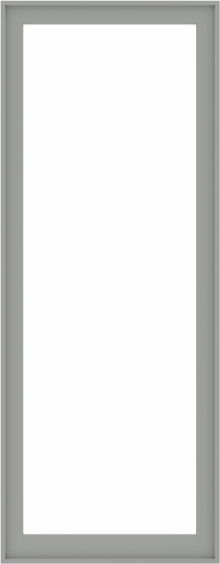 WDMA 38x96 (37.5 x 95.5 inch) Composite Wood Aluminum-Clad Picture Window without Grids-5