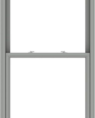 WDMA 40x102 (39.5 x 101.5 inch)  Aluminum Single Double Hung Window without Grids-1