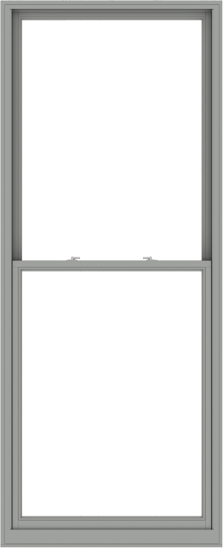 WDMA 44x108 (43.5 x 107.5 inch)  Aluminum Single Double Hung Window without Grids-1