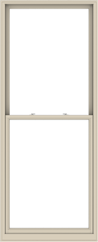 WDMA 44x108 (43.5 x 107.5 inch)  Aluminum Single Hung Double Hung Window without Grids-2