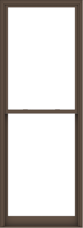 WDMA 44x120 (43.5 x 119.5 inch)  Aluminum Single Hung Double Hung Window without Grids-4