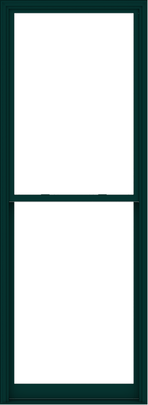 WDMA 44x120 (43.5 x 119.5 inch)  Aluminum Single Hung Double Hung Window without Grids-5