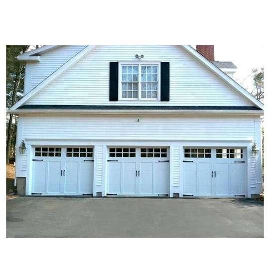 WDMA 16x7 Aluminium Insulated Tempered Glass Garage Door Price