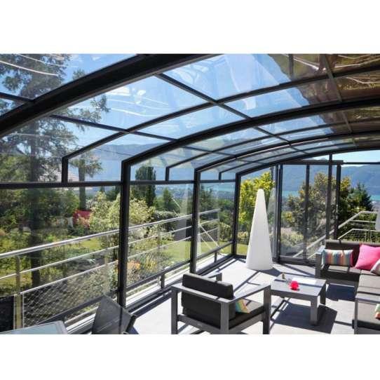 China WDMA aluminum patio enclosure