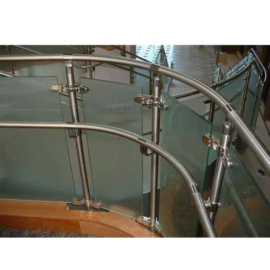 China WDMA Aluminium Alloy Extrusion Balcony Handrail Balustrade Aluminium Baluster Deck Railing System Design