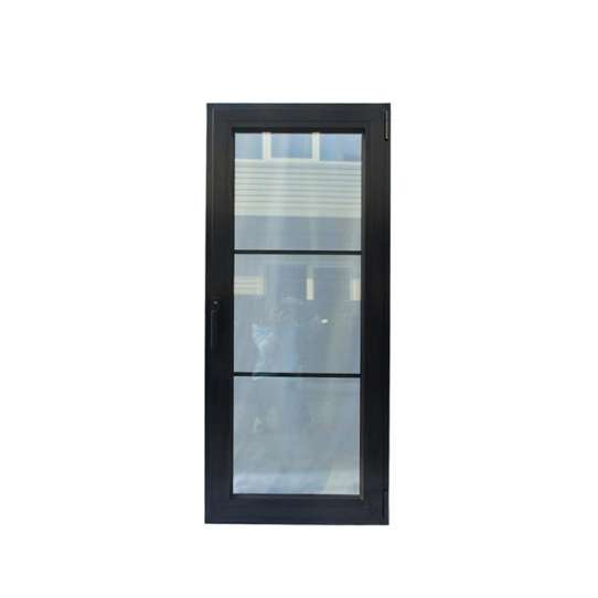 WDMA Aluminium Extrusion Office Casement Swing Stained Tinted Door With Glass In Sri Lanka Price