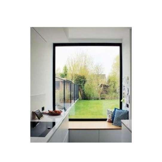 WDMA Aluminium Fixed Glass Panel Window Price Double Pane Window Price
