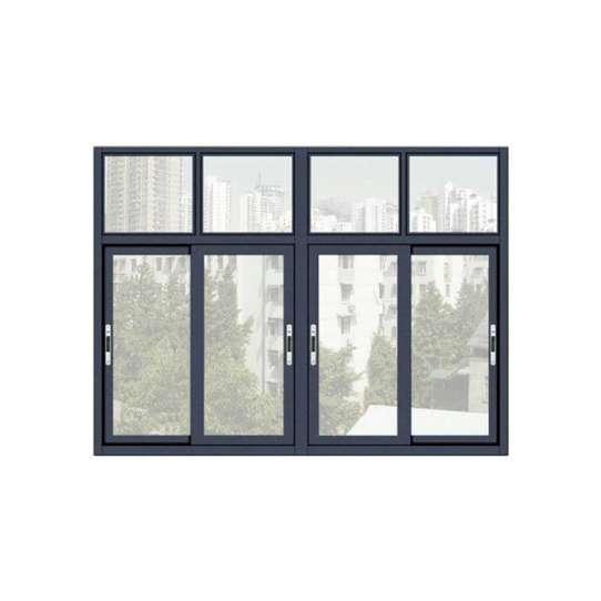 China WDMA Aluminium Sliding Window With Mosquito Net