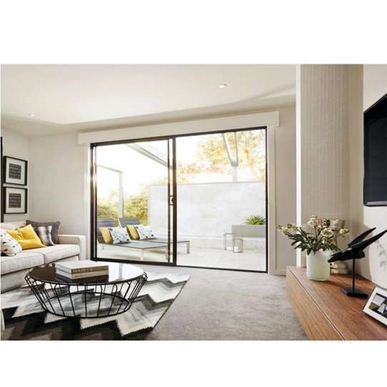 WDMA Aluminium Frame With Glass Doors And Windows Designs