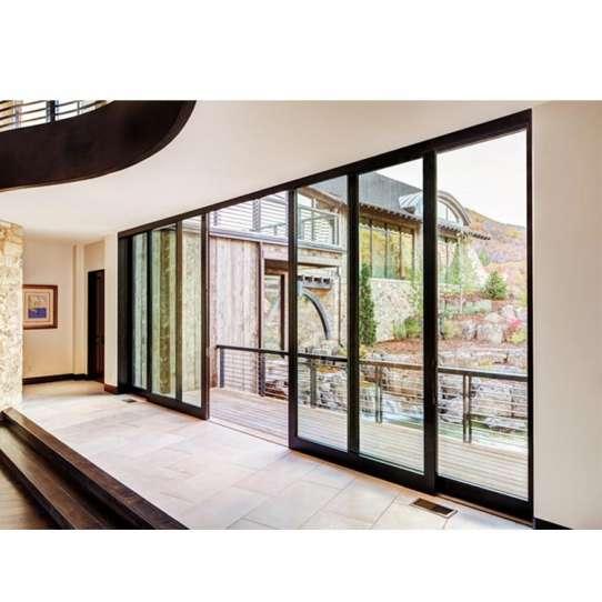 WDMA aluminium doors windows Aluminum Folding Doors