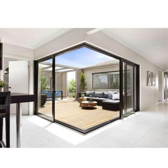 China WDMA Aluminium Frame With Glass Doors And Windows Designs