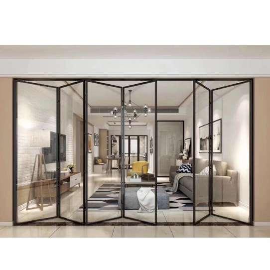 WDMA Aluminium Glass Folding Doors