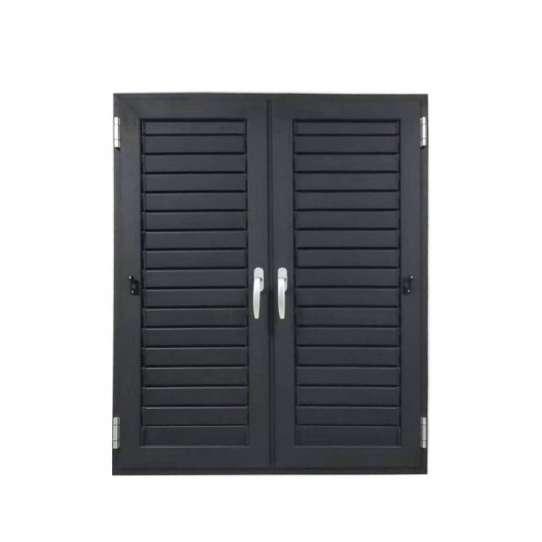WDMA Aluminium Louver Window Metal Louver Door And Window Oem Design