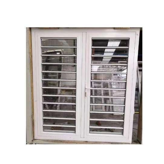 China WDMA Aluminium Naco Louvered Window Shutter