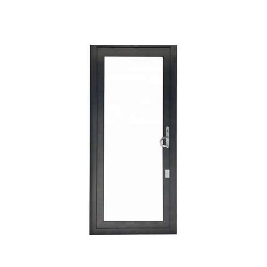 China WDMA Aluminium Security Profile Interior Glass Window And Door For Bedroom