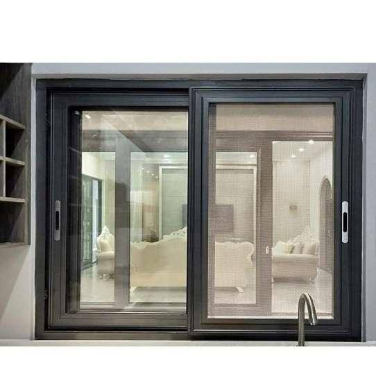 China WDMA Aluminium Sliding Glass Reception Window In The Philippines Price Design