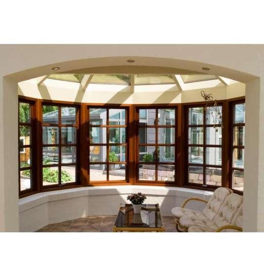 China WDMA Aluminum Bay Window For Sale Aluminum Bow Window Price